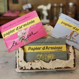 """Papier d'Arménie """"La Rose"""""""